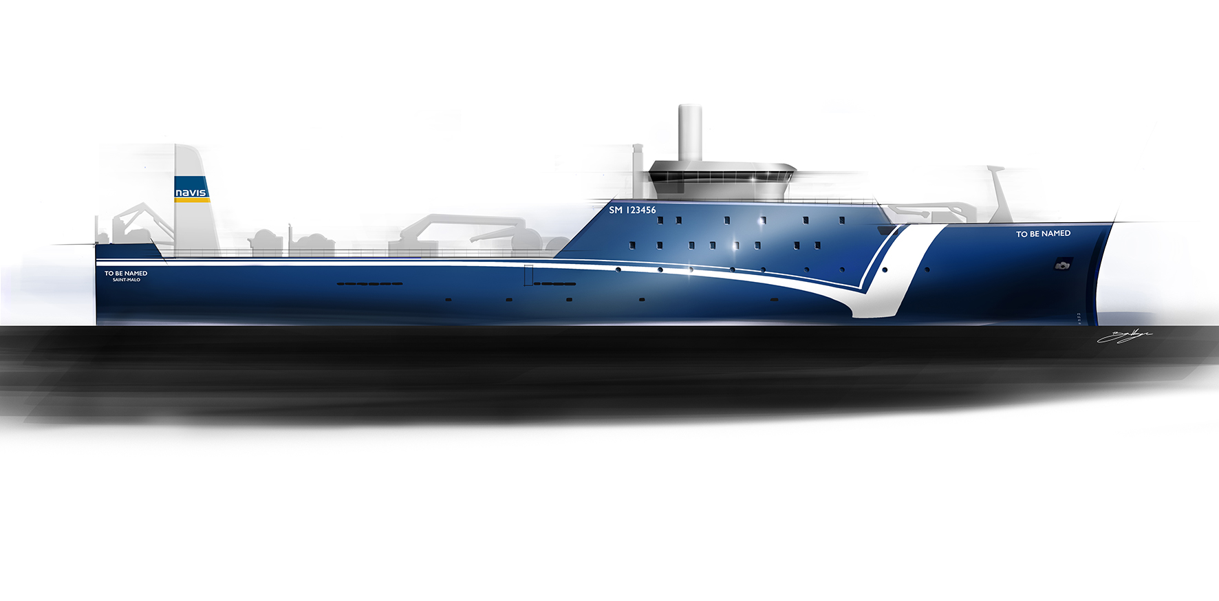 Navis designs a 100 m freezer trawler for shipowners in
